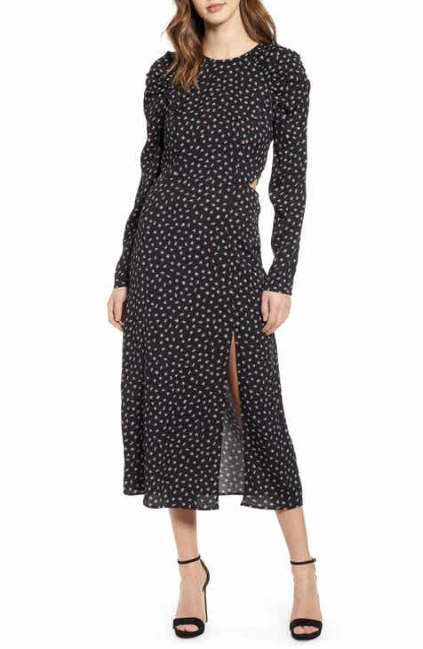 326600f48 AFRM Kiah Lattice Back Midi Dress