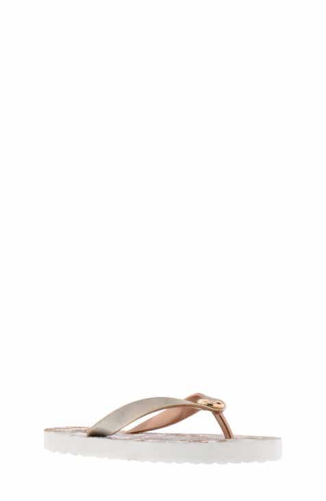 8a97b21a59cf7a MICHAEL Michael Kors Endine Butterfly Flip Flop (Toddler