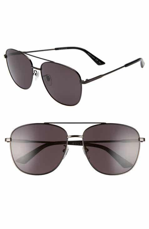 b34281457da Gucci Navigator 61mm Aviator Sunglasses