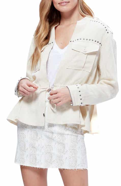 PAIGE Cardene Stud Detail Jacket by PAIGE