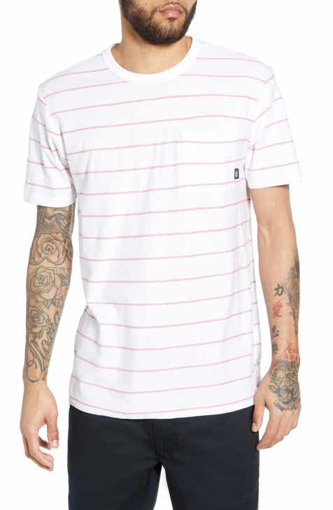 0a9b62b94b Vans Lined Up II Stripe Pocket T-Shirt