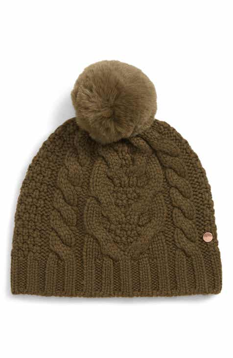 Ted Baker London Cable Knit Beanie 2cab86110fd