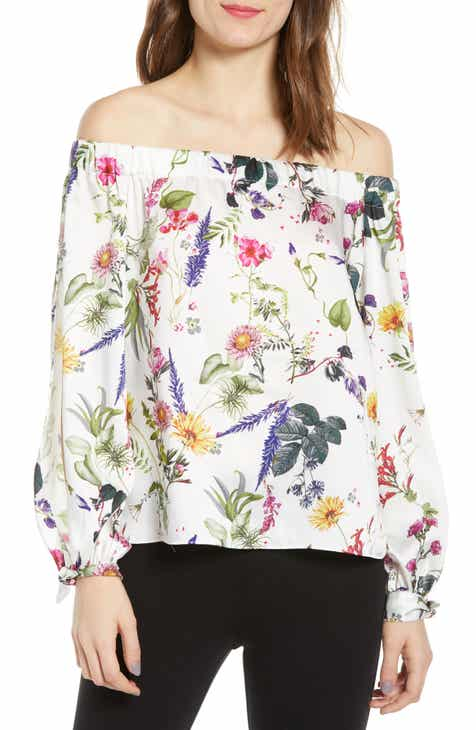 acb50d9dfdd78 Bailey 44 Tarte Tartin Floral Off the Shoulder Top