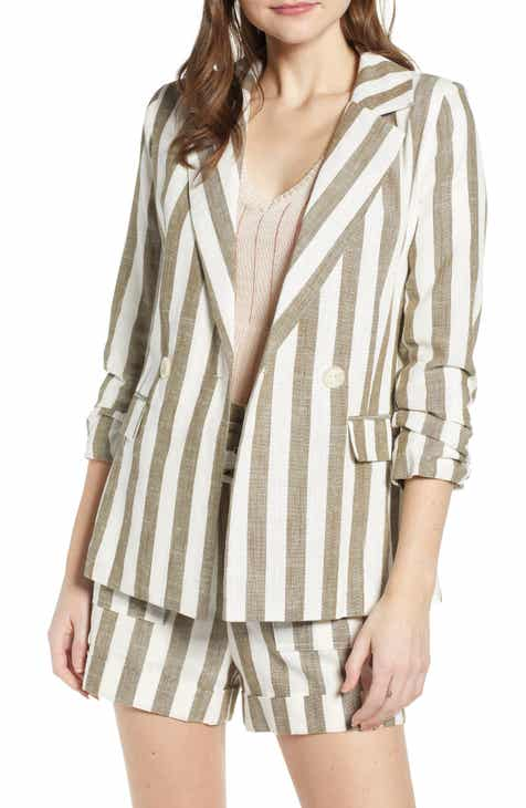 Chriselle Lim Cherie Stripe Blazer by CHRISELLE LIM