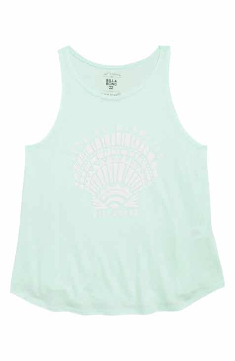 Billabong Let's Be Mermaids Graphic Tank (Little Girls & Big Girls)