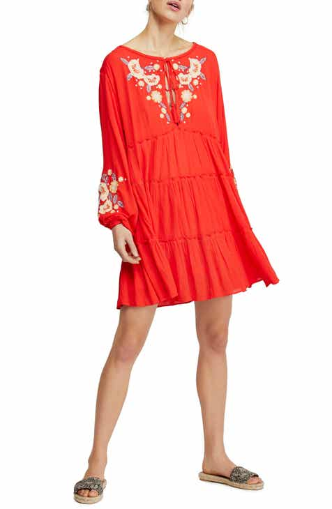 c867dcdd325 Free People Spell On You Embroidered Minidress