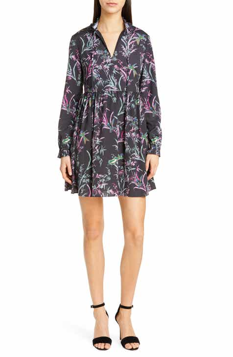 Ted Baker London Duclin Fortune Long Sleeve Minidress by TED BAKER LONDON