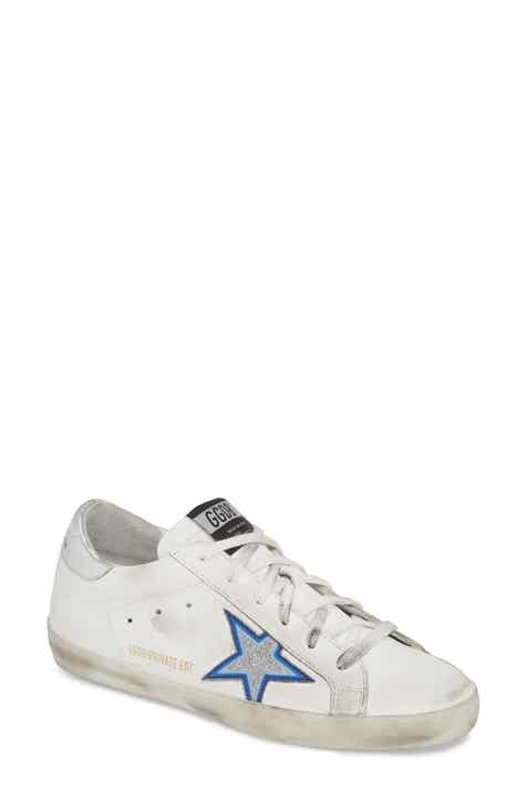 a27eca3c83592 Golden Goose Superstar Glitter Star Sneaker (Women) (Nordstrom Exclusive)