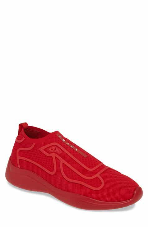 ebb7da77aa7d2 Prada Laceless Logo Sneaker (Men)