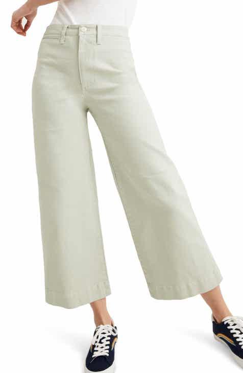 594b09560c5 Madewell Emmett Crop Wide Leg Pants