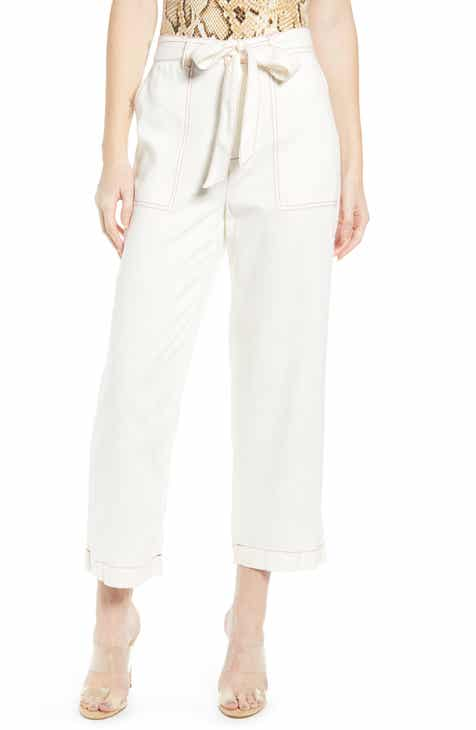 St. John Collection Wide Leg Milano Knit Crop Pants by ST. JOHN COLLECTION
