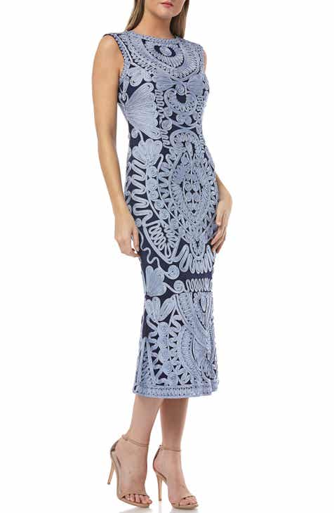 a3153f1be63 JS Collections Soutache Mesh Dress (Regular   Petite)