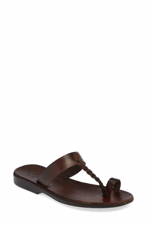ab6c6a15de5e9a Jerusalem Sandals Ara Toe Loop Slide Sandal (Women)