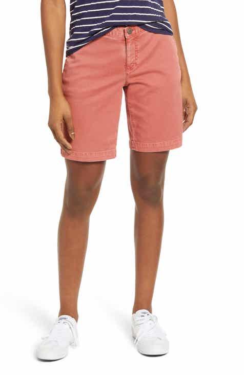c335acd34e Caslon® Twill Shorts (Regular   Petite)