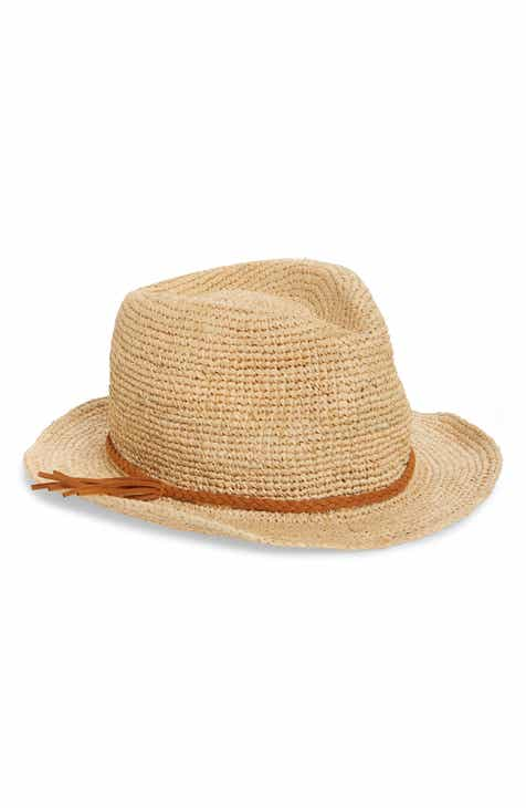 f7cf452f464 Treasure   Bond Woven Raffia Hat
