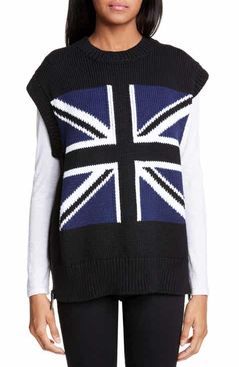 Burberry Union Jack Sweater Vest by BURBERRY