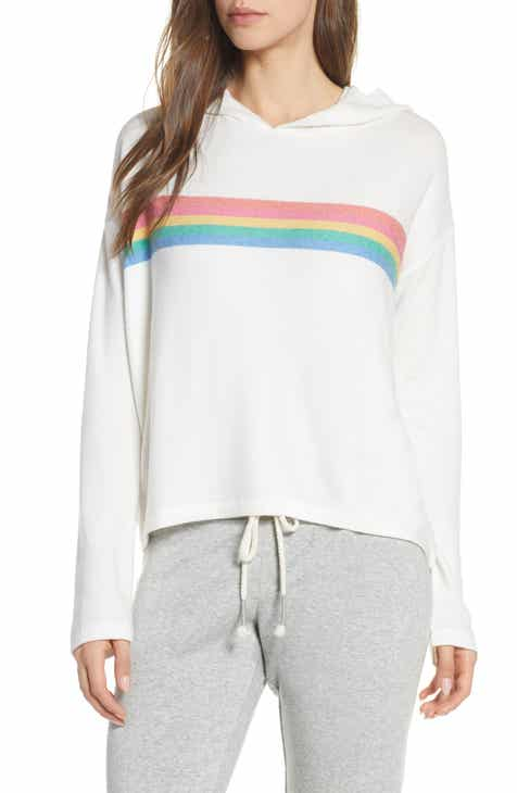 PJ Salvage Rainbow Stripe Hoodie by PJ SALVAGE