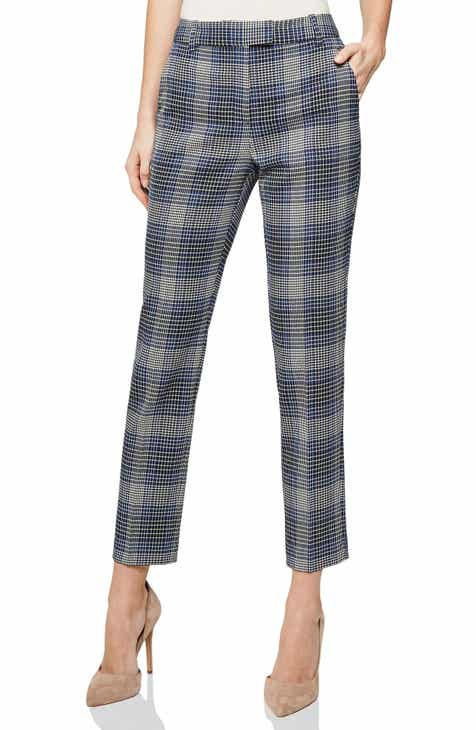 Reiss Josie Plaid Ankle Trousers by REISS