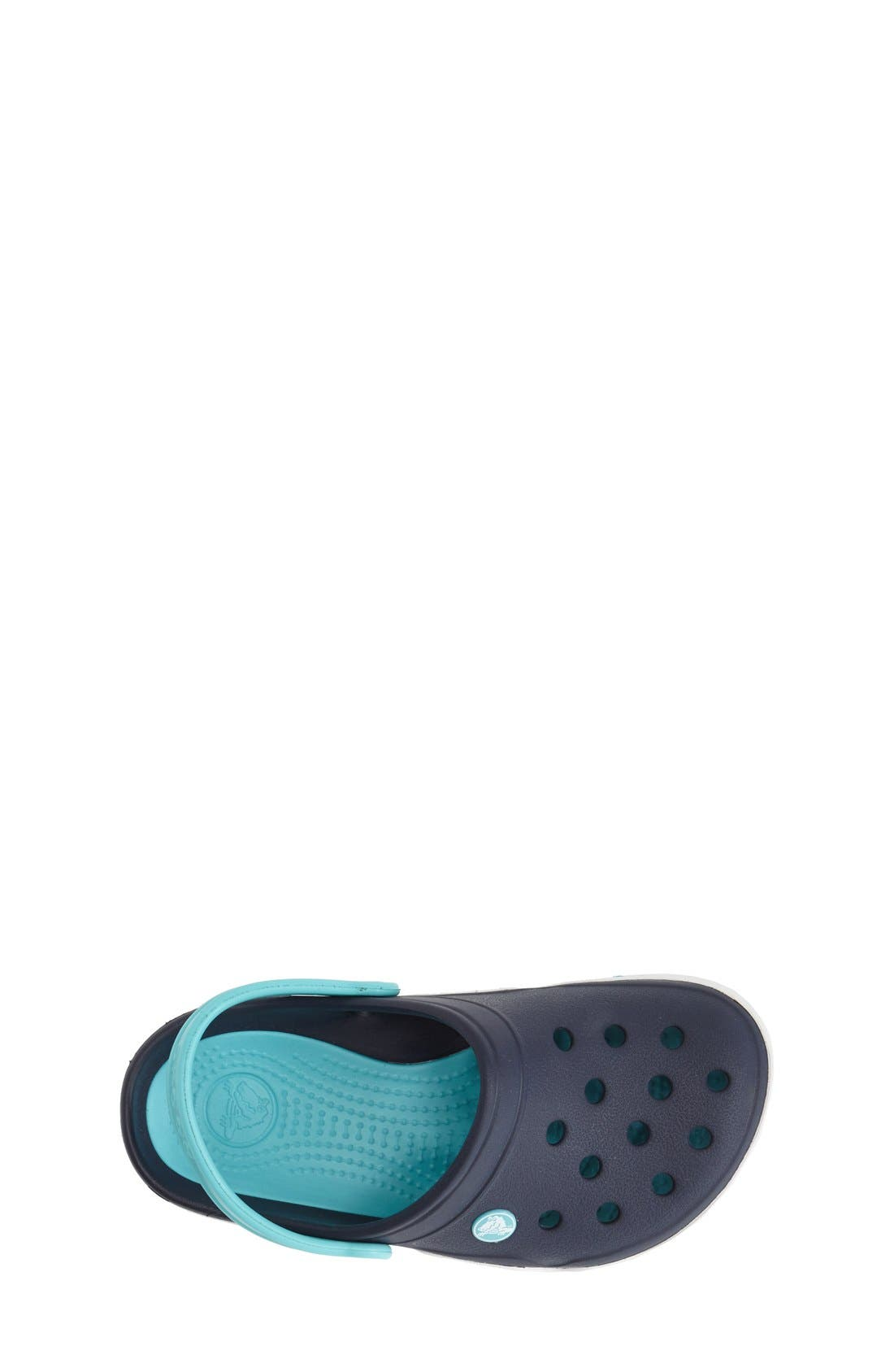 Alternate Image 3  - CROCS™ 'Front Court' Sandal (Walker, Toddler & Little Kid)