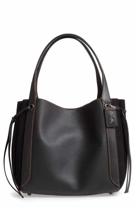 172389c29dac COACH Harmony Leather & Suede Hobo