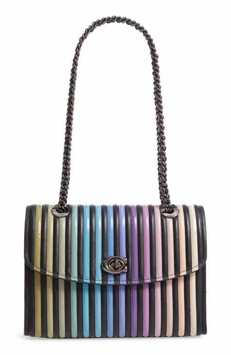 COACH Parker Ombré Quilting Leather Top Handle Shoulder Bag e835b68057596