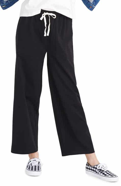 Madewell Utility Crop Wide Leg Pants by MADEWELL