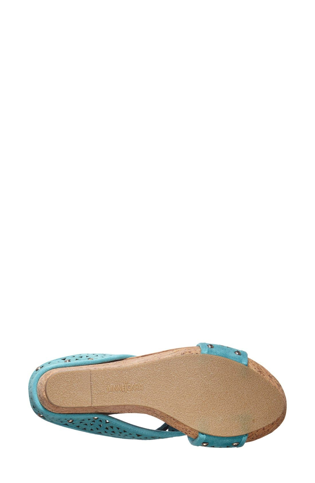 Alternate Image 4  - Minnetonka 'Lainey' Sandal (Women)