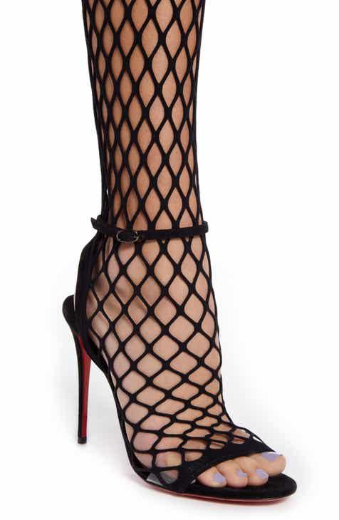 52764619c39 Christian Louboutin Zoom Mesh Tights Sandal (Women)