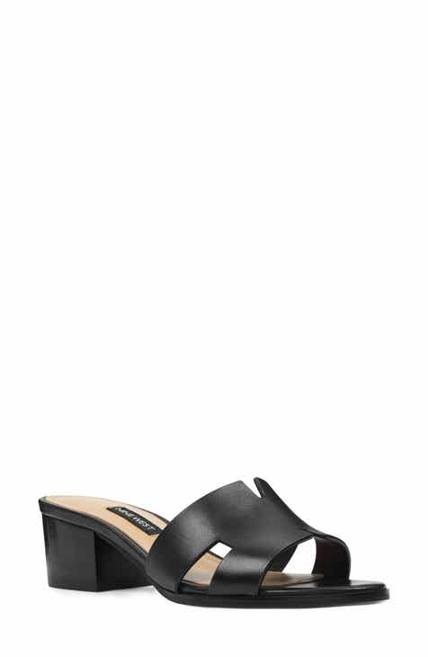 997fb54ae1b Nine West Aubrey Cutout Slide Sandal (Women)