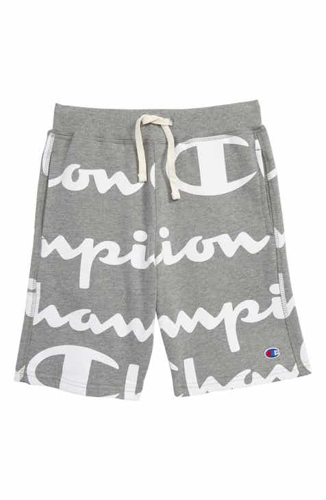 8999662ed745 Champion Giant Script Sweat Shorts (Big Boys)