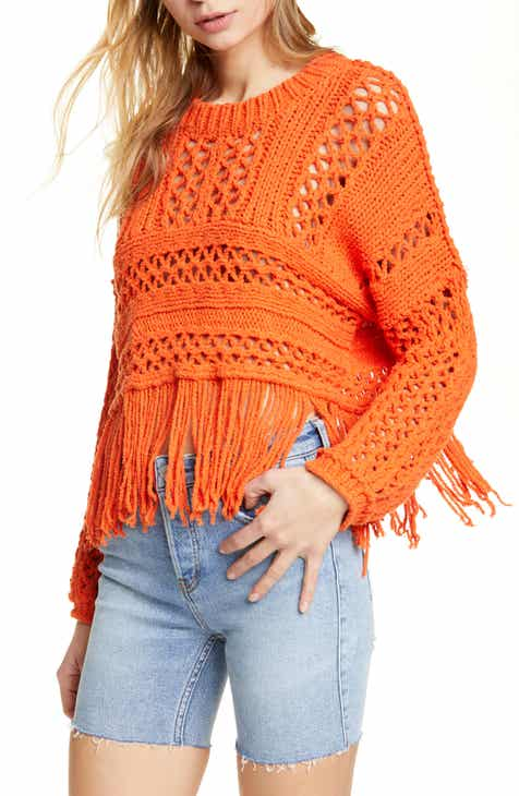 69851f27d5 Free People Higher Love Crochet Sweater