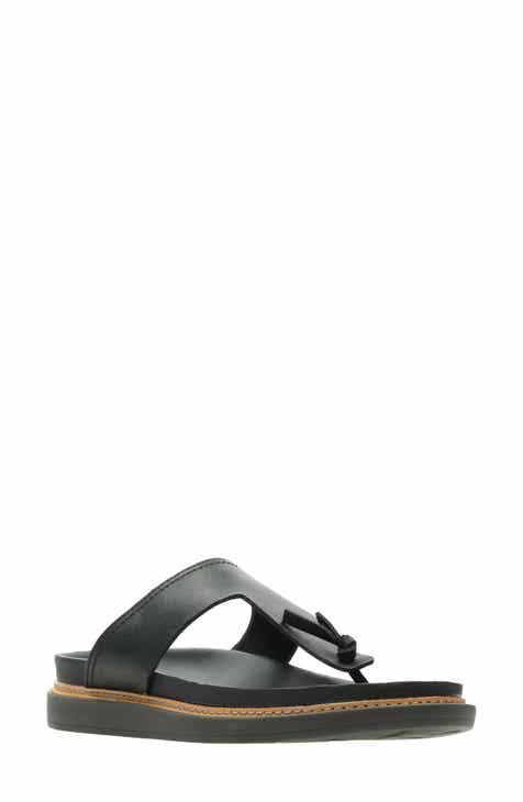 b3ec9aba8d1 Clarks® Trace Short T-Strap Sandal (Women)