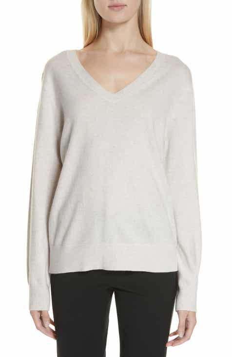 a730dc3b7d1 Vince Weekend V-Neck Cashmere Sweater