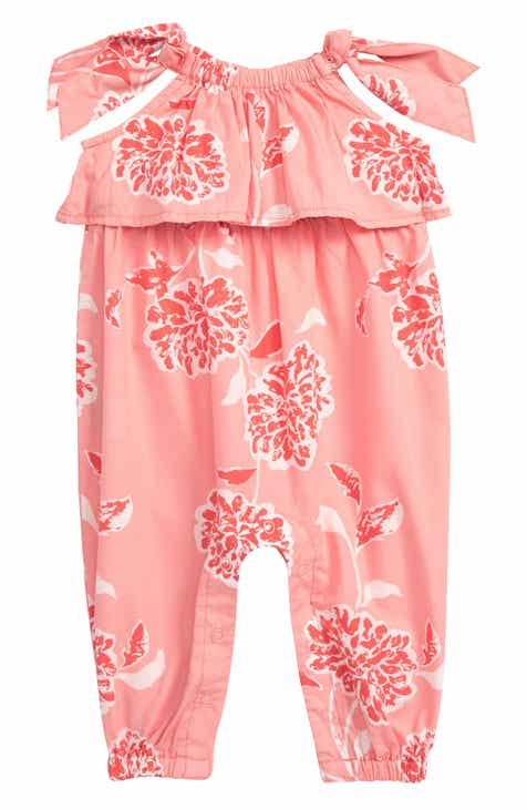 f4284fbf0f7 Baby Girl Tea Collection Rompers   One-Pieces  Ruffle