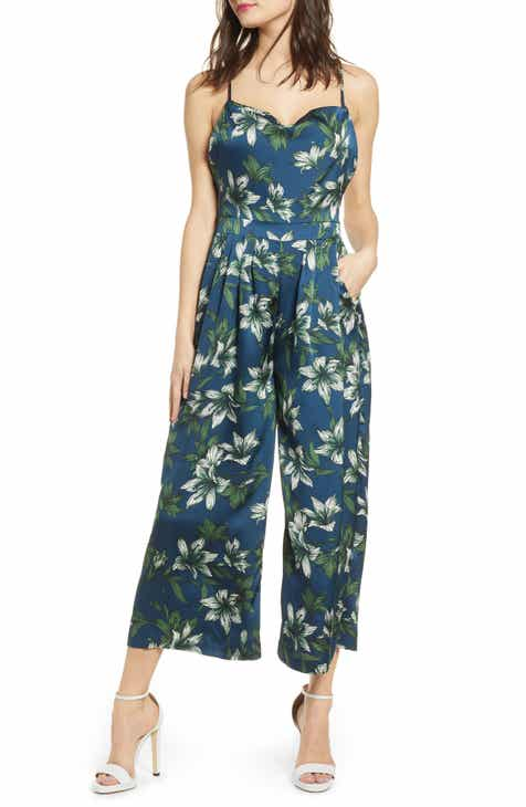 J.O.A. Sleeveless Cowl Neck Jumpsuit by J.O.A.