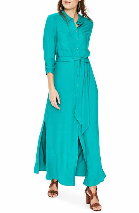 Boden Katrina Maxi Shirtdress (Regular & Petite) by BODEN