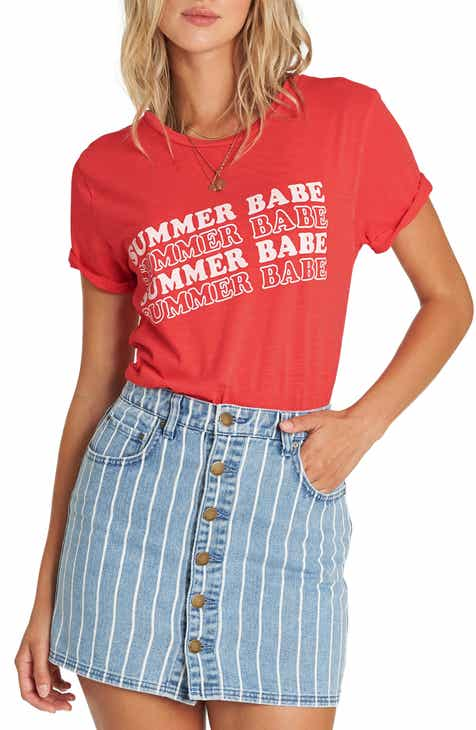 Billabong Babe All Day Graphic Tee