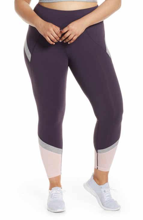 SHAPE Activewear Endorphin Colorblock Capri Leggings (Plus Size) efe69c4e8