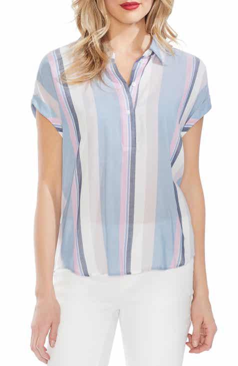 5ac8d899f9b359 Vince Camuto Sunset Stripe Henley Shirt