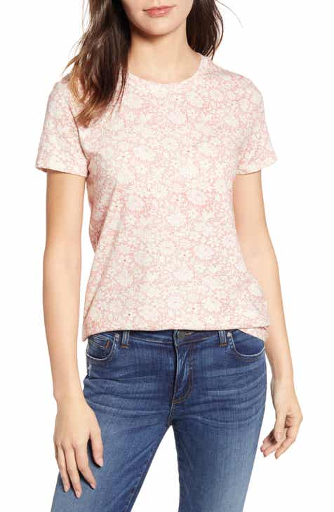 a106823681102b Lucky Brand All Over Floral Tee