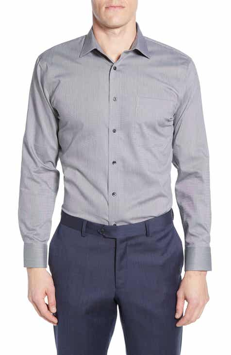 Nordstrom Men s Shop Trim Fit Non-Iron Dress Shirt 59833c31664d