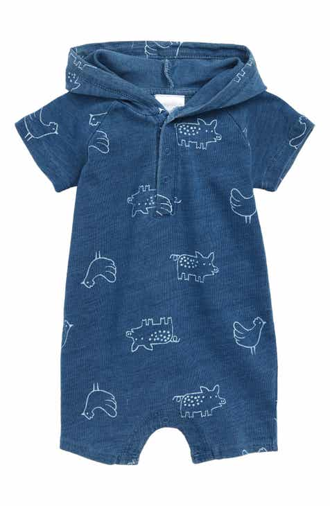 e6556d9cc1b7 Nordstrom Baby Knit Hooded Romper (Baby)