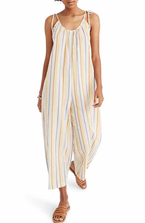 3125e5897989 Madewell Tie Strap Cover-Up Jumpsuit (Regular   Plus Size) Tie-Strap  Cover-Up Jumpsuit