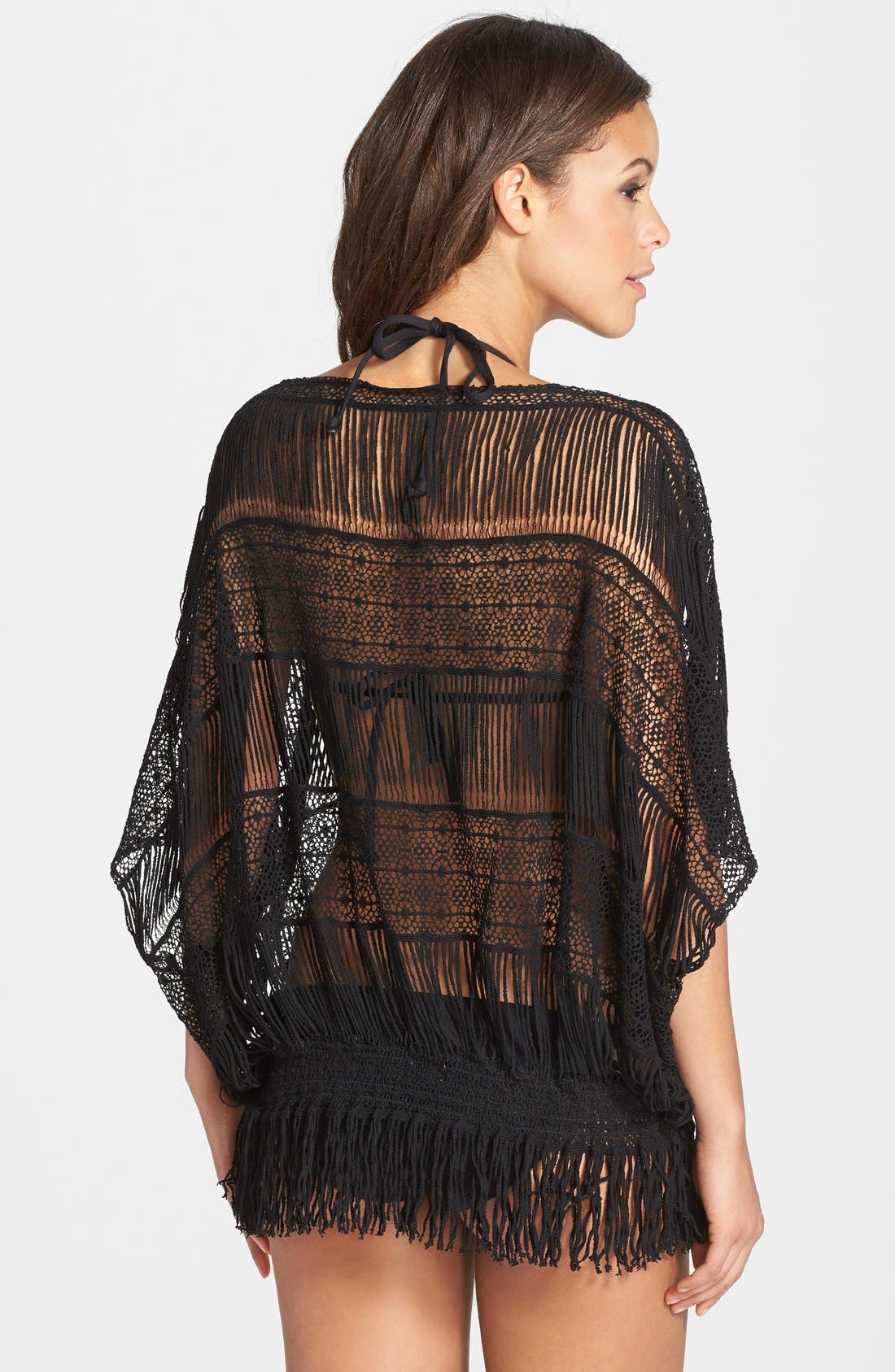 Alternate Image 2  - Trina Turk French Lace Tunic Cover-Up