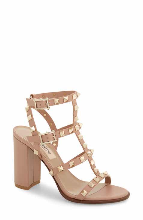 021942f15e2 VALENTINO GARAVANI  Rockstud  T-Strap Sandal (Women)