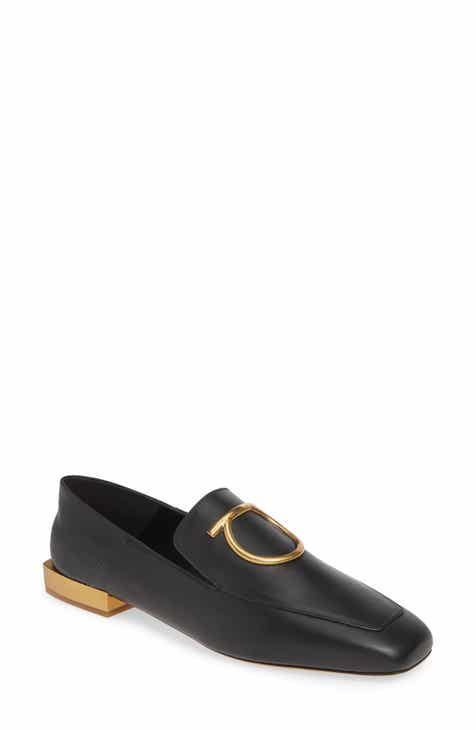 3ab204c58d33f Salvatore Ferragamo Lana Gancio Convertible Loafer (Women). $730.00.  Product Image. BLACK LEATHER