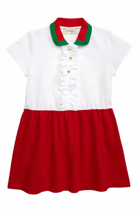 3640c8b5 Gucci Colorblock Piqué Dress (Little Girls & Big Girls)
