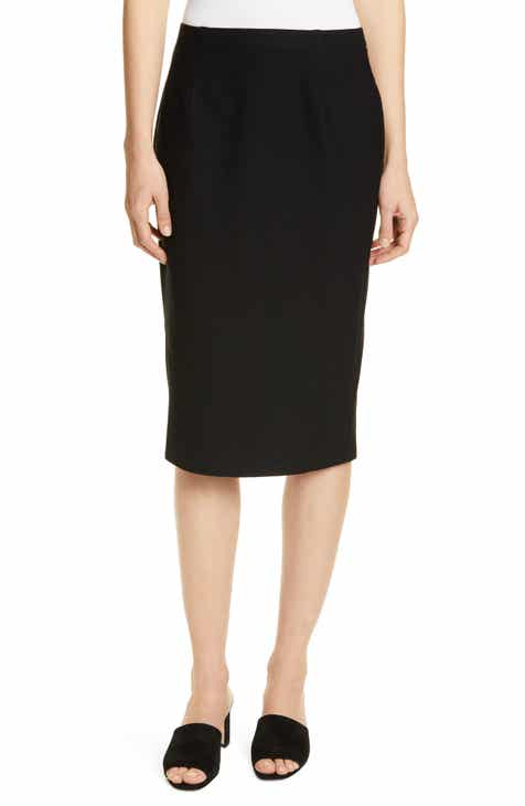Eileen Fisher Hogh Waist Pencil Skirt (Regular & Petite) by EILEEN FISHER