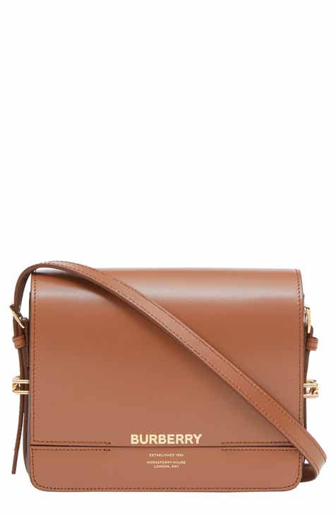 112463e670 Burberry Small Horseferry Colorblock Leather Bag