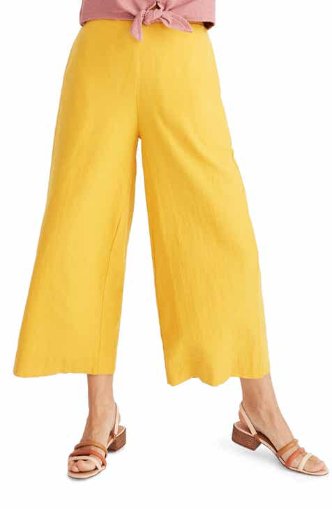 21b567bc22e Madewell Huston Pull-On Crop Pants
